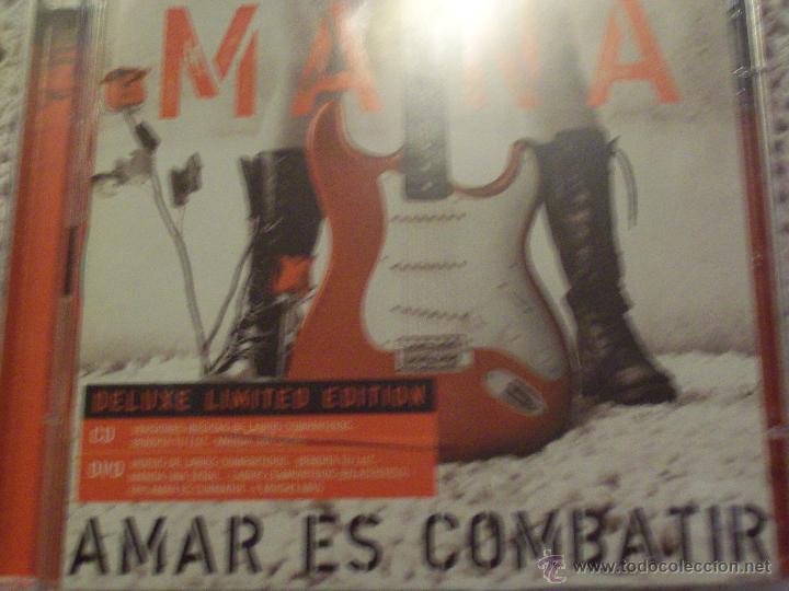 MANA AMAR ES COMBATIR DELUXE LIMETD EDITION CD+DVD (Música - CD's Latina)
