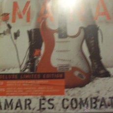 CDs de Música: MANA AMAR ES COMBATIR DELUXE LIMETD EDITION CD+DVD. Lote 43757784