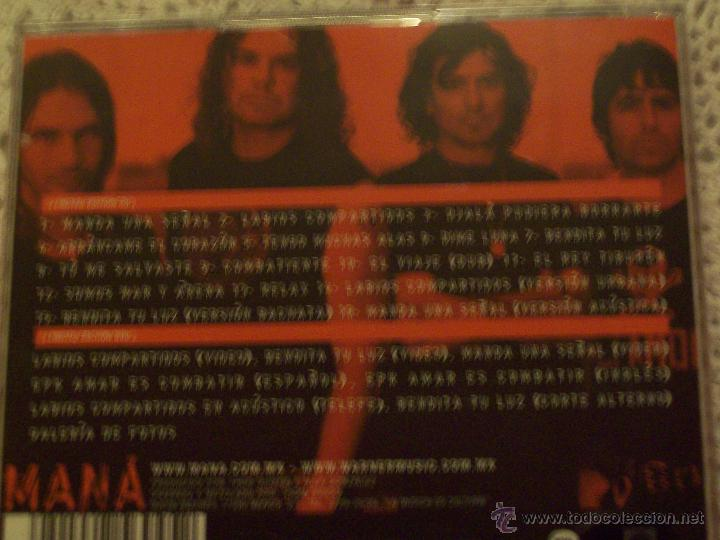 CDs de Música: Mana Amar es combatir deluxe limetd edition CD+DVD - Foto 5 - 43757784