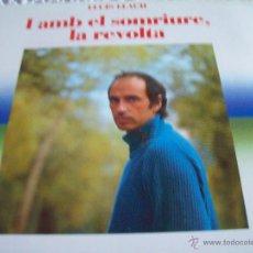 CDs de Música: LLUIS LLACH I AMB EL SOMRIURE , LA REVOLTA. Lote 43775005