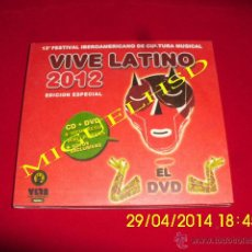 CDs de Música: BUNBURY CD + DVD VIVE LATINO 2012. Lote 43824237