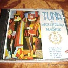 CDs de Música: TUNA DE ARQUITECTURA DE MADRID. LA TUNA PASA. CLAVELITOS ... CD ZAFIRO 1992. Lote 43905737