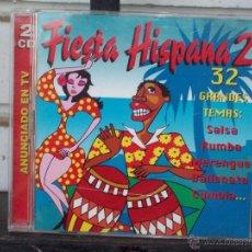 CDs de Música: FIESTA LATINA 2 - 32 GRANDES TEMAS - 2 CDS. Lote 43914287