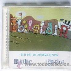 CDs de Música: BETI BETIKO EUSKARA BIZIRIK,IBILALDIA 97 LEIOA-GETXO EUSKERA. Lote 43926296