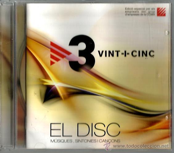 CD 3 VINT+CINC : GERARD QUINTANA, QUIMI PORTET, KITFLUS, GRINGOS, PANXULO, LA CASA AZUL, AMARGOS,ETC (Música - CD's Bandas Sonoras)