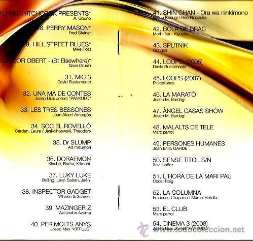 CDs de Música: CD 3 VINT+CINC : GERARD QUINTANA, QUIMI PORTET, KITFLUS, GRINGOS, PANXULO, LA CASA AZUL, AMARGOS,ETC - Foto 4 - 43945133