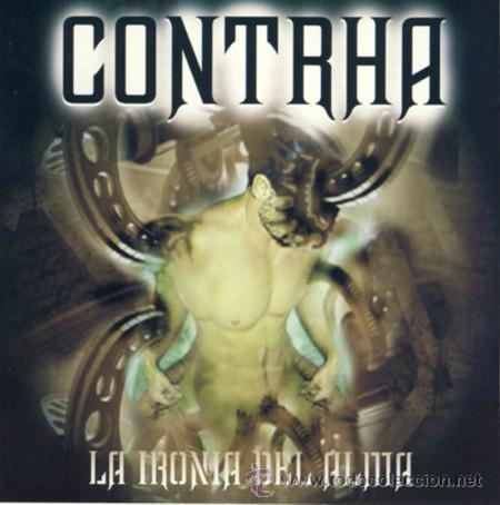 CONTRHA / LA IRONIA DEL ALMA, 2003 CD SPANISH HEAVY !! NUEVO (Música - CD's Heavy Metal)