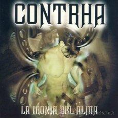CDs de Música: CONTRHA / LA IRONIA DEL ALMA, 2003 CD SPANISH HEAVY !! NUEVO. Lote 43946840