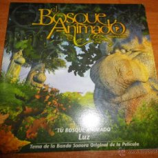 CDs de Música: LUZ CASAL TU BOSQUE ANIMADO BANDA SONORA EL BOSQUE ANIMADO CD SINGLE PROMOCIONAL ALEJO STIVEL RARO. Lote 145428594