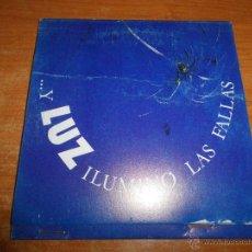 CDs de Música: LUZ CASAL ILUMINO LAS FALLAS CD SINGLE PROMOCIONAL 40 PRINCIPALES LIMITADO Nº 483 DE 500 PABLO SYCET. Lote 43951753