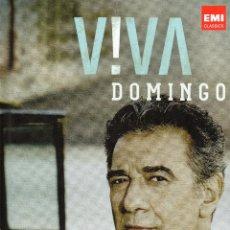 CDs de Música: VIVA DOMINGO. PLACIDO DOMINGO. EMI CLASSICS. 3 CD'S + LIBRO.. Lote 43963154