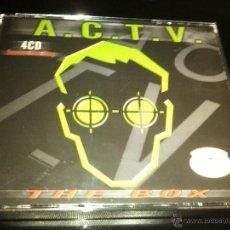 CDs de Música: ACTV - THE BOX 4CD . Lote 43963625