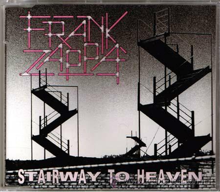 FRANK ZAPPA / STAIRWAY TO HEAVEN / BOLERO, 1ª VERSION, FRANCE ORG CD SINGLE LED ZEPPELIN !! EXC (Música - CD's Rock)
