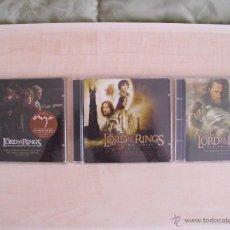 CDs de Música: EL SEÑOR DE LOS ANILLOS BANDA SONORA TRILOGIA.. Lote 43973493