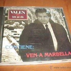 CDs de Música: VALEN. LOCO POR ELLA. CONTIENE: VEN A MARBELLA. CD CAROPOL RECORDS 1992. Lote 43976940
