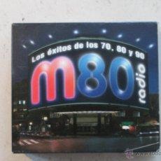 CDs de Música: M80 RADIO - LOS ÉXITOS DE LOS 70, 80 Y 90 - CD. Lote 44008408
