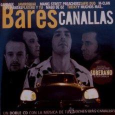 CDs de Música: M-CLAN, PIRATAS, PLATERO Y TÚ, MAGO DE OZ, JAMIROQUAI, GARBAGE... DOBLE CD. Lote 242420725