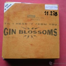 CDs de Música: GIN BLOSSOMS, TIL I HEART IT FROM YOU, HANS ARE TIED, 2 CANCIONES , AÑO 1996, CD PROMO PEPETO. Lote 44017801