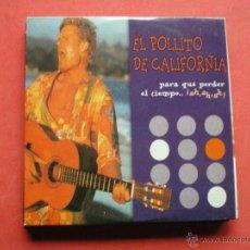 CDs de Música: EL POLLITO DE CALIFORNIA PARA QUE PERDER EL TIEMPO / CD PROMO PEPETO. Lote 44019061