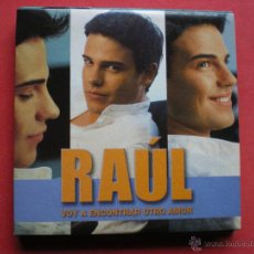 CDs de Música: RAÚL / VOY A ENCONTRAR OTRO AMOR (CD SINGLE CARTÓN 2003). Lote 214230041