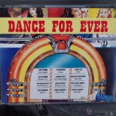 CDs de Música: DANCE FOR EVER - 2 CDS. Lote 44032030