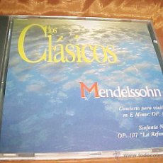 CDs de Música: LOS CLASICOS. MENDELSSOHN. ORQUESTA SINFONICA DE BERLIN. CD . Lote 44043155