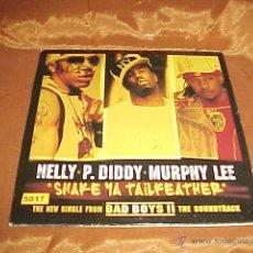 CDs de Música: NELLY P. DIDDY MURPHY LEE. SHAKE YA TAILFEATHER. BSO BAD BOYS II. CD PROMOCIONAL. Lote 44043247