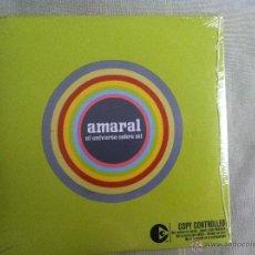CDs de Música: CD AMARAL-EL UNIVERSO SOBRE TI. Lote 44045054