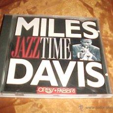 CDs de Música: MILES DAVIS. JAZZ TIME. CD ORBIS FABBRI. 1992. EDICION ITALIANA. Lote 44069350