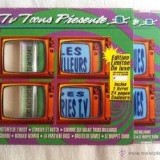 CDs de Música: CD DOBLE-LES MILLEURS GENERIQUE DES SERIES T.V AMERICAINES-60'S. Lote 44076635