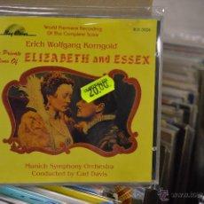 CDs de Música: ELIZABETH AND ESSEX CD - BSO. Lote 44078356
