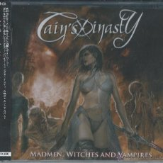 CDs de Música: CAIN'S DINASTY CD MADMEN,WITCHES..JAPAN/OBI,2010 SPANISH HEAVY-SARATOGA-WARCRY. Lote 44092435