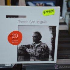 CDs de Música: TOMAS SAN MIGUEL - NUEVOS MEDIOS COLECCION - CD. Lote 44102601