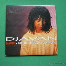 CDs de Música: DJAVAN / SAMURAI (CD SINGLE 1994) PARTICIPACION STEVIE WONDER. Lote 44106314