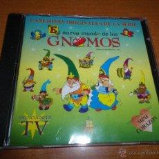 CDs de Música: MARTA SANCHEZ EL NUEVO MUNDO DE LOS GNOMOS CD ALBUM BANDA SONORA SERIE TV CONTIENE 3 TEMAS DE MARTA. Lote 44122333