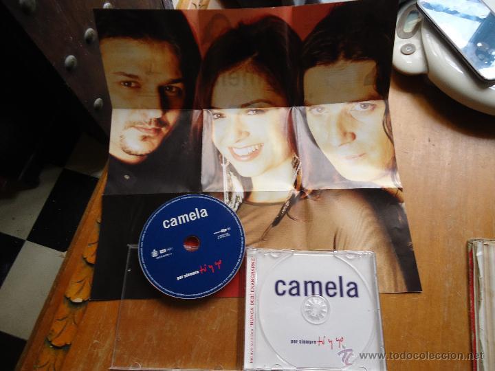 CDs de Música: CAMELA CD + POSTER - POR SIEMPRE TU Y YO , BUEN ESTADO - Foto 2 - 44122467