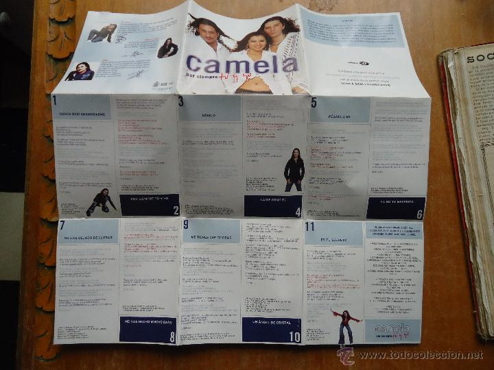 CDs de Música: CAMELA CD + POSTER - POR SIEMPRE TU Y YO , BUEN ESTADO - Foto 3 - 44122467