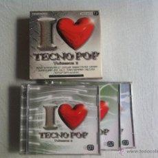 CDs de Música: CD TRIPLE-TECNO POP VOLUMEN 2. Lote 44123865