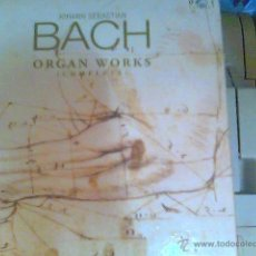 CDs de Música: JOHANN SEBASTIAN BACH - ORGAN WORKS (COMPLETE). Lote 44199132