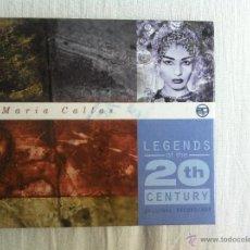 CDs de Música: CD MARIA CALLAS-LEGENDS 20TH CENTURY. Lote 44208305