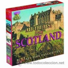 CDs de Música: 3 CDS RECOPILATORIOS MUSICA ESCOCESA VARIOUS ARTIST ALL THE BEST FROM SCOTLAND. Lote 44218641