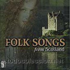 CDs de Música: 3 CDS RECOPILATORIOS MUSICA ESCOCESA VARIOUS ARTISTS FOLK SONGS FROM SCOTLAND ---- (HAMIESCDPR). Lote 44218666
