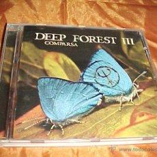 CDs de Música: DEEP FOREST III. COMPARSA. CD EDICION FRANCESA. Lote 44227750