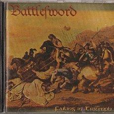CDs de Música: BATTLEFWORD CD FAILING IN .., 2003 RARE MELODIC DEATH-IN FLAMES-NAPALM DEATH. Lote 44230936
