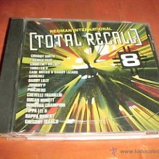CDs de Música: TOTAL RECALL 8. REDMAN INTERNATIONAL. VARIOUS ARTISTS. CD EDICION EXTRANJERA. Lote 44251338