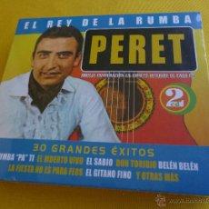 CDs de Música: PERET - 30 GRANDES EXITOS - 2 CD - PRECINTADA. Lote 44290169
