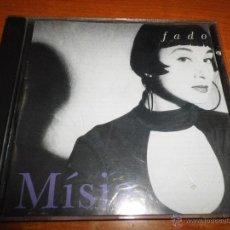 CDs de Música: MISIA FADO CD ALBUM DEL AÑO 1993 HECHO EN ESPAÑA CONTIENE 13 TEMAS MUSICA PORTUGUESA. Lote 44316409