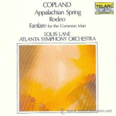 CDs de Música: COPLAND, AARON - APPALACHIAN SPRING + RODEO + FANFARE FOR THE COMMON MAN -ATLANTA SYMPHONY ORCHESTRA. Lote 44322743