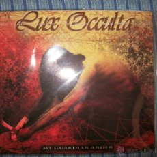 CDs de Música: DIGIPACK CD - LUX OCCULTA - MY GUARDIAN ANGER. Lote 44322850