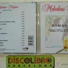 CDs de Música: MELODÍAS MÁGICAS - ROMÁNTICAS - CD. Lote 44353915
